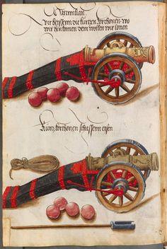 Title: Zeugbuch Kaiser Maximilians I, Date: 1502