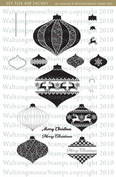 Clare's creations: Waltzingmouse Stamps