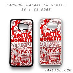 red art arctic monkeys Phone case for samsung galaxy S6 & S6 EDGE