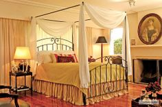 Romantic Canopy Beds | ... Romantic Wrought Iron Beds, Canopy Beds By Claudio Rayes » Bed #28