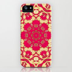 Cassy in Ruby Coral iPhone & iPod Case by Lisa Argyropoulos - $35.00