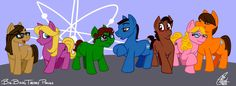 Big Bang Theory Ponies by Kanthara.deviantart.com on @deviantART