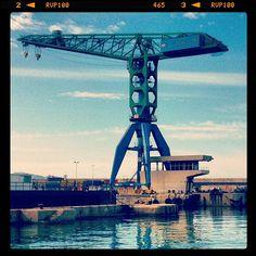 #works #crane #seaport #port #travail - @addams_loveless | Webstagram