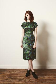 Samantha Pleet FW13 Cereus Dress
