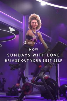 Ally Love's spiritually-grounded ride series inspires our Members to be their best selves. You Fitness, Fitness Goals, Fitness Motivation, Best Self, Workouts, Sunday, Inspirational Quotes, Love, Life Coach Quotes