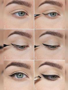 Para conseguir o efeito, você pode usar o delineador Superslick Liquid Eye Liner, da MAC, que é vendido no site da Sephora por R$105,00