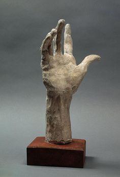 "urgetocreate: "" Auguste Rodin, Right Hand Pierre and Jacques de Wissant, Burghers of Calais, Terracotta "" Sculptures Céramiques, Hand Sculpture, Modern Sculpture, Abstract Sculpture, Bronze Sculpture, Armature Sculpture, Auguste Rodin, Musée Rodin, Rodin Museum"