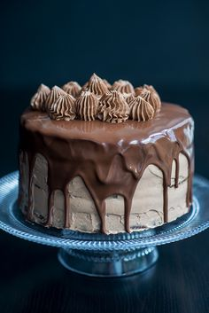 """sweetoothgirl: """" ULTIMATE CHOCOLATE AND NUTELLA CAKE """""""