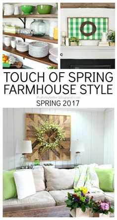 spring farmhouse style decor