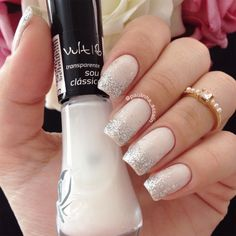Touch of polish Cute Nails, Pretty Nails, Hair And Nails, My Nails, Perfect Nails, How To Make Hair, Nail Arts, Nails Inspiration, Beauty Nails
