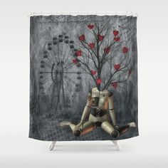 Love sprouts Shower Curtain