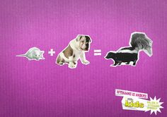 """""""Afrikaans is anders"""" campaign for National Geographic Kids.  Very clever!"""
