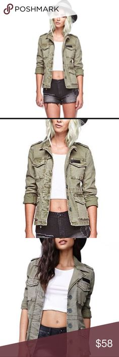 Gypsy warrior army jacket Never worn new without tags Gypsy warrior Jackets & Coats