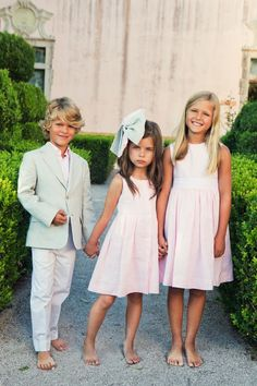 Oscar de la Renta children's wear, could anything be more perfect for Park Avenue Princesses?