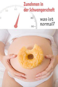 Endlich ist es gut, viel Gewicht zu zunehmen. Zusätzliche Kilos sind ein Zeichen dafür, dass sich das Baby gesund entwickelt. Welche Gewichtszunahme normal ist und wann ihr aufpassen solltet, lest ihr hier. ©Thinkstock