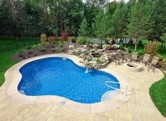 Small Inground Pools Prices and Designs | ... in ground swimming pools fox has the finest engineered swimming pool