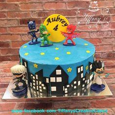 PJ Mask Cake Springboro Ohio Tiffany's Creative Cakes