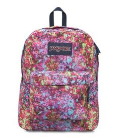 Explore the features of our Superbreak backpack. Available in a variety of colors and patterns, this durable backpack is perfect for anyone on the go.