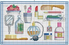 Designing Your Own Cross Stitch Embroidery Patterns - Embroidery Patterns Hama Beads Patterns, Beading Patterns, Embroidery Patterns, Cross Stitch Patterns, Cross Stitching, Cross Stitch Embroidery, Stitches Makeup, Stitches Wow, Cross Stitch Boards