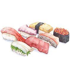 Sushi Throwback!