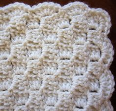 Sea Trail Grandmas: FREE CROCHET BLANKET PATTERN CHRISTENING OR BURIAL Fit 1 lb premature to 12 lbs. full term babies