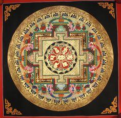 #Tibetan Thangka #Painting Handmade in Nepal