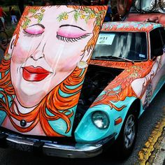 Art Car Parade by @breakawaybackpacker