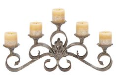 Orleans 5 candle holder