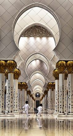 Zayed Grand Mosque, AbuDhabi | Incredible Pics