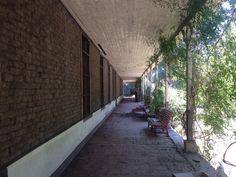 #Corredor largo... #Adobe #Chile #Restauracion #Restoration #Arquitectura #Architecture