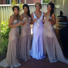 Love the bridesmaids dress