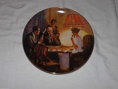 Norman Rockwell Collector Plate This Is The Room That Light Made 1983 | eBay