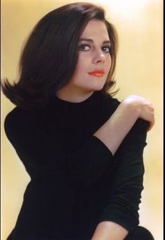 Natalie Wood circa 1964; my mom use to say I looked like her & that was such a huge compliment--timeless