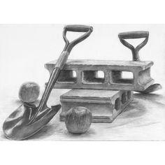 生徒作品   芸大・美大受験予備校   河合塾美術研究所 Still Life Sketch, Still Life Drawing, Object Drawing, Basic Drawing, Pencil Art Drawings, Lovers Art, Art Gallery, Objects, Sketching