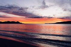 Sunset magic in Raglan