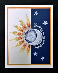 *IC602 Sun, Moon, and Stars by hobbydujour - Cards and Paper Crafts at Splitcoaststampers