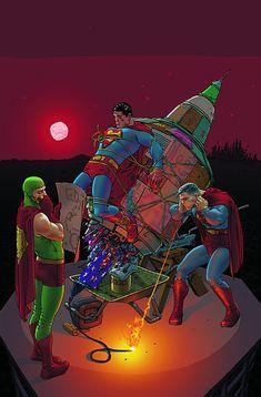 All-Star Superman Frank Quitely Superman Comic, All Star Superman, Superman Characters, Comic Book Artists, Comic Artist, Comic Books Art, Marvel Comics Superheroes, Marvel Dc Comics, Book Cover Art