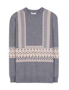#chloe - intarsia wool sweater