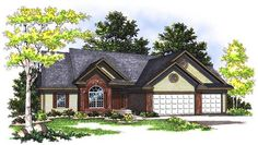 This inviting ranch style home with traditional design influences has over 1900 sq ft of living space. The one story floor plan includes 3 bedrooms.
