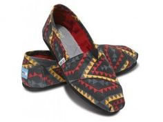 Toms - Women's Red Indo Classic    #MountainHighOutfitters #Toms