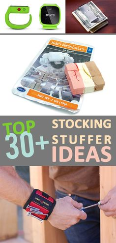 The most useful stocking stuffers-that will still be used after the holidays! Creative stocking stuffer ideas for people of all ages! Christmas Stocking Stuffers, Diy Christmas Gifts, Winter Christmas, All Things Christmas, Holiday Crafts, Holiday Fun, Christmas Stockings, Christmas Holidays, Winter Holidays