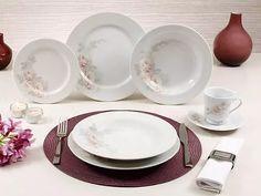 serviço de jantar 42 peças romântica schmidt