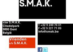 S.M.A.K. Website - Modern art museum, Ghent