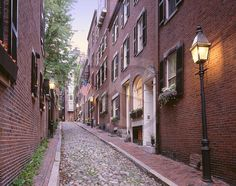 Beacon Hill, Boston, Mass.