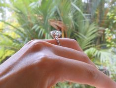 Phoenix's ideal-cut diamond ring by Megé Inc. Round Diamond Engagement Rings, Diamond Solitaire Rings, Engagement Ring Settings, Vintage Engagement Rings, Dimond Ring, Ideal Cut Diamond, Profile View, Jewels, Wedding Goals