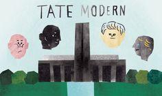 UK / london tate modern, art, gallery, uk, artist, Thames, - yonacity