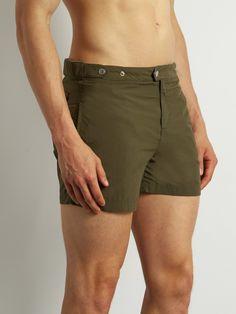 52e4b0ecd9486 Solid & Striped The Kennedy swim shorts Men's Swimwear, Swim Shorts, Casual  Shorts,