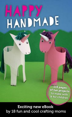 Happy Handmade - a fun, collaborative Ebook from 18 awesome craft bloggers