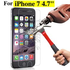 Find More Phone Bags & Cases Information about 2.5D Ultra Thin Tempered Glass Screen Protector Case For iPhone 7 6 6S 5 5S 5C SE 7plus 6plus Protective Film Cover Phone Cases,High Quality Phone Bags & Cases from Shop2785238 Store on Aliexpress.com