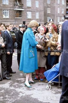Diana on a walkabout, 1982